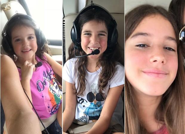 Helena, Maria e Clara (Foto: Reprodução/Instagram)