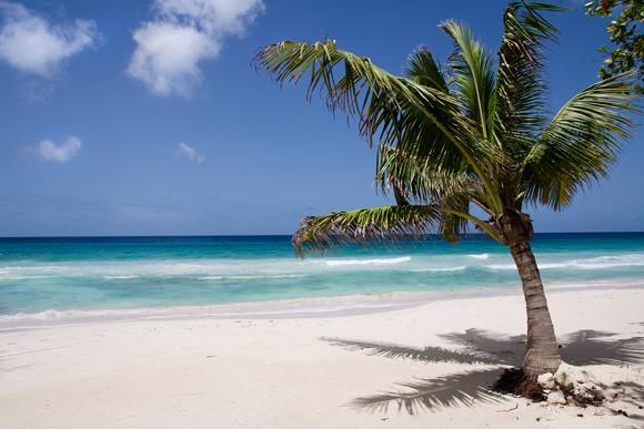 Praia Fitts, no Caribe (Foto: © Haroldo Castro/Época)