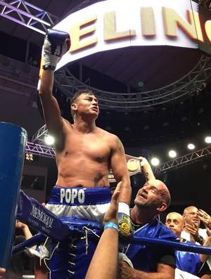 Popó vence por nocaute no seu retorno ao boxe (Foto: Divulgação)