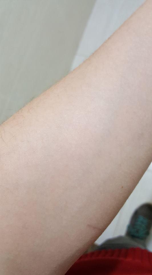 A tatuagem que mais curtiu foi essa: Harry Potter usando a capa da invisibilidade XD (Foto: Felipe Marmol)