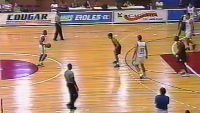 Mogi x Franca Paulista 1996 (Foto: Reprodução/Sportv)
