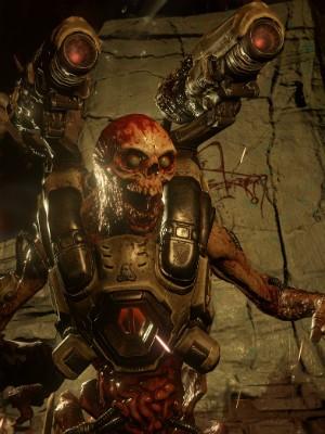 Cyberdemon, um dos vilões mais perigosos do novo 'Doom' (Foto: Divulgação/Bethesda)