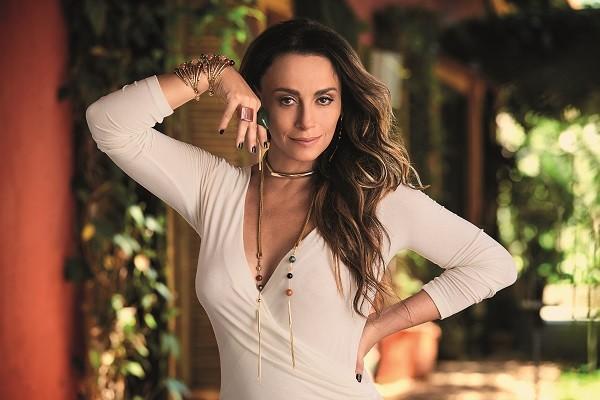 A atriz e autora Suzana Pires lança linha de joias  (Foto: Marcelo Ringo)