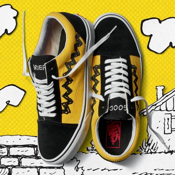 Vans lança coleção-cápsula com Snoopy, Charlie Brown e outros personagens de Peanuts! (Foto: Divulgação)