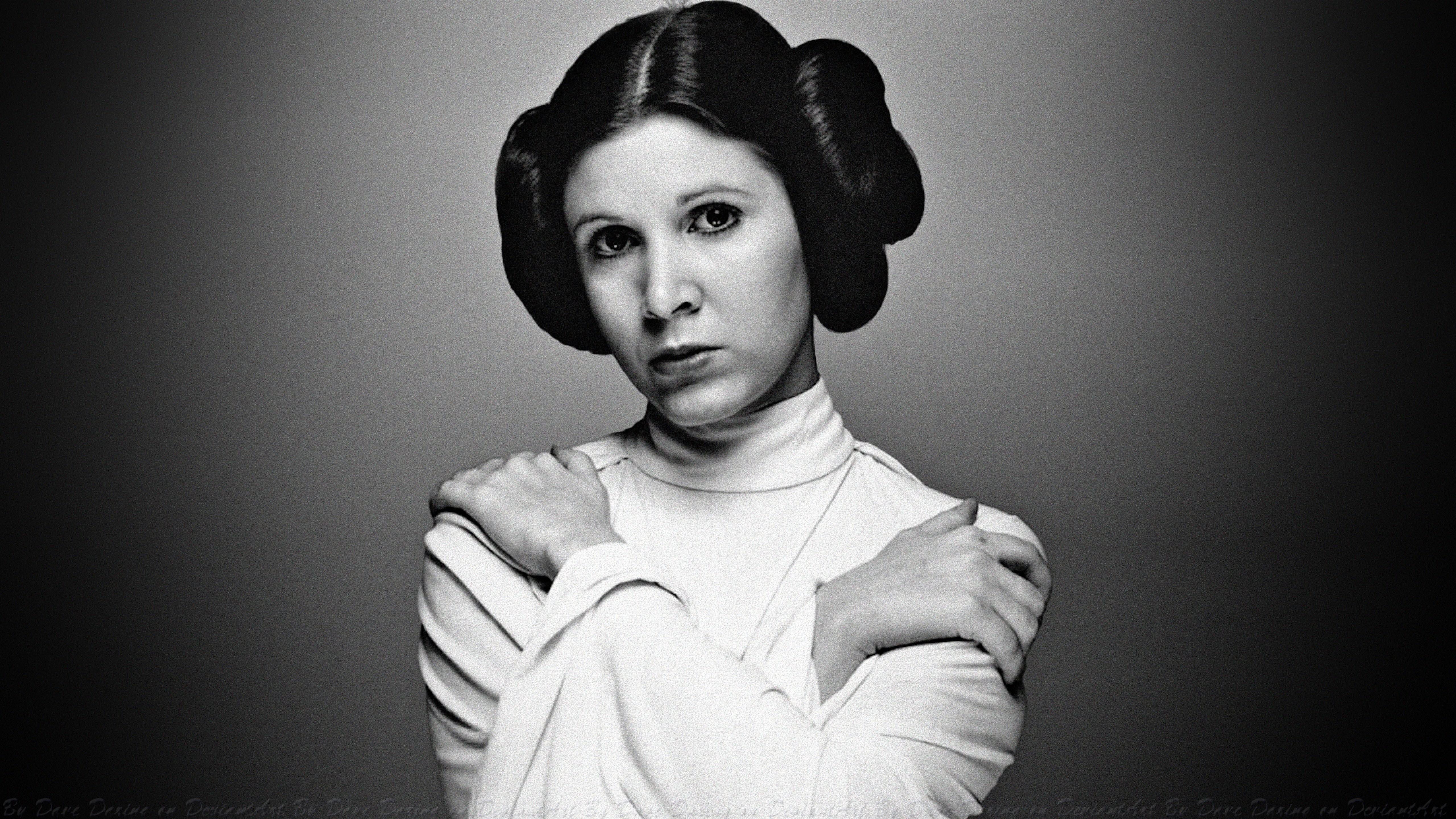 Carrie Fisher como Leia (Foto: Reprodução)