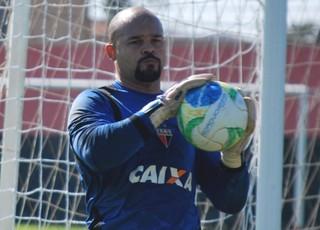 Márcio - goleiro Atlético-GO (Foto: Guilherme Salgado / Site Oficial do Atlético-GO)