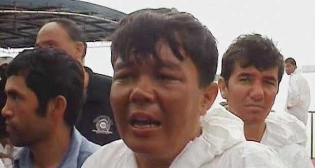 Sobrevivente de naufrágio na Indonésia relata o drama que passou antes de ser resgatado (Foto: BBC)