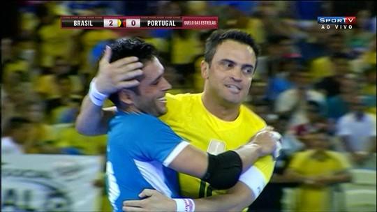 Sem recorde de público, Brasil de Falcão supera Portugal no Castelão