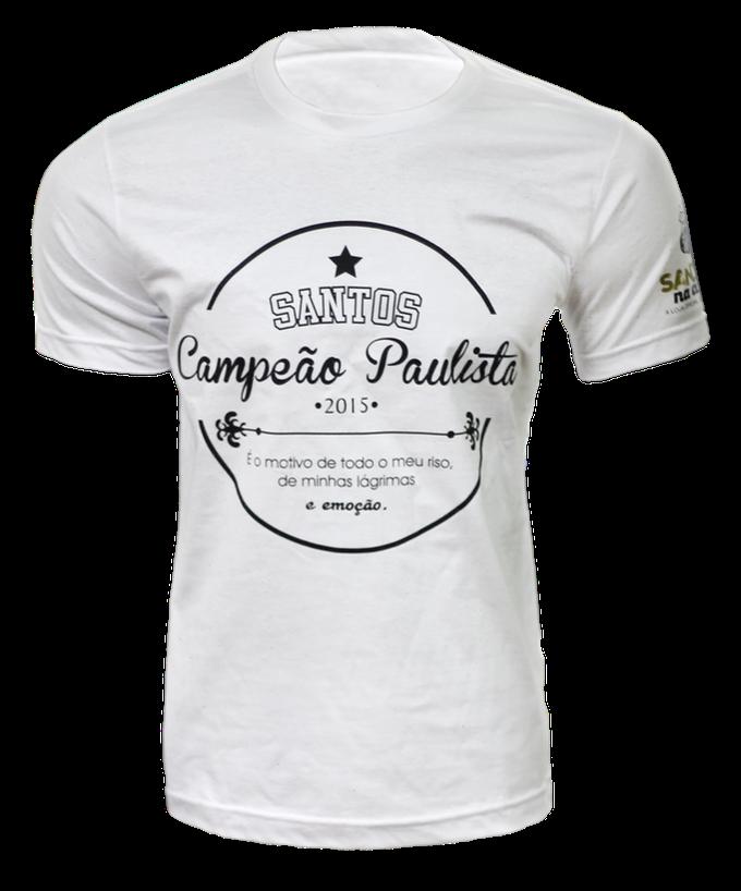 Camisa comemorativa Santos Paulistão 2015 (Foto: Divulgação)