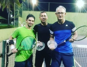 Campeonato de Tênis foi realizado nas cinco classes (Foto: Elises Americano/ Arquivo pessoal)