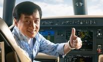 Embraer entrega jato ao ator Jackie Chan (Divulgação/Embraer)