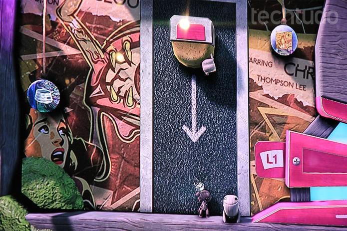 Little Big Planet 3 oferece a possibilidade do multiplayer com até 4 jogadores (Foto: Isadora Díaz/ TechTudo)