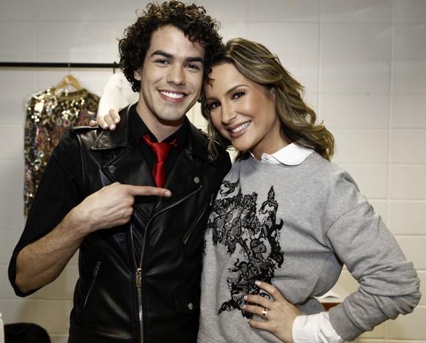 Sam Alves Claudia Leitte (Foto: Inácio Moraes/TV Globo)
