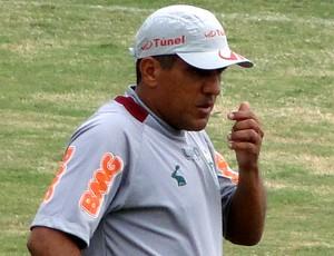 Silas américa-mg treino (Foto: Gabriel Duarte)