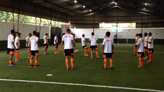 Luverdense, treino, Criciúma (Foto: Maico Gaúcho/Luverdense Esporte Clube)