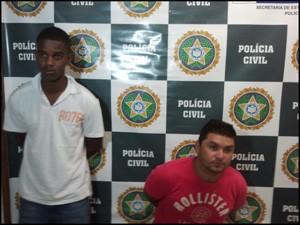Darley Gomes e Mauro César Ramalho de Paula foram presos (Foto: Divulgação/ Polícia Civil)