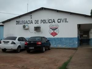 Delegacia de Ouro Preto do Oeste (Foto: Camilo Estevam/G1)