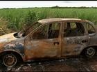 Mulher é presa suspeita de matar marido e queimar o corpo, em Goiás