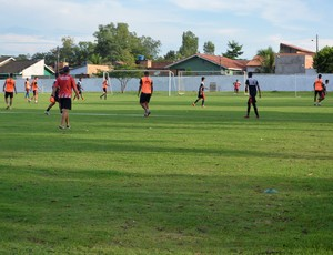 Treino do Real Ariquemes (Foto: Jeferson Guedes)