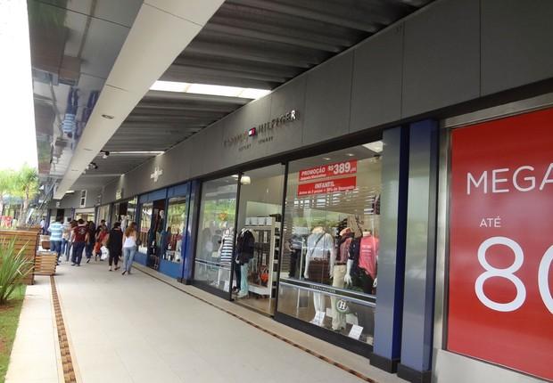 Outlet Premium no interior de São Paulo ; consumo ; compras ; varejo ;  (Foto: Divulgação)