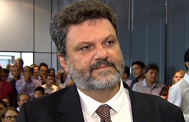 Luiz Felipe Gabriel Gomes é o novo secretário de Comunicação de Goiânia, Goiás (Foto: Reprodução/TV Anhanguera)