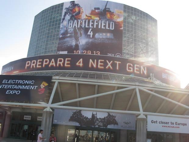 Feira de games Electronic Entertainment Expo (E3) acontece a partir desta segunda-feira (10) em Los Angeles (Foto: Gustavo Petró/G1)
