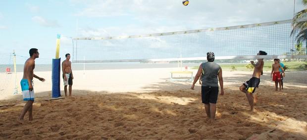 vitor felipe vôlei de praia (Foto: Lucas Barros / Globoesporte.com/pb)