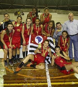 Clarissa e Geovana são campeãs brasileiras sub-15 (Foto: William Lucas / Inovafoto / Cedida)