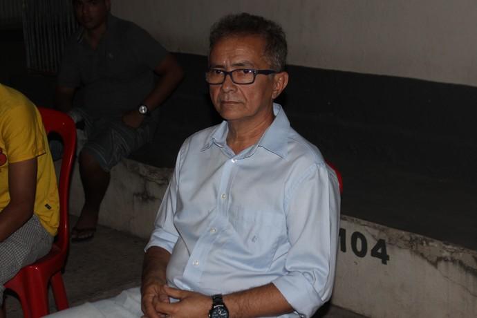 Leal Filho, presidente do Esporte Clube Timon (Foto: Francisco Filho)