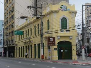 Museu de Arte do Espírito Santo, no Centro de Vitória (Foto: Divulgação/ Secult)