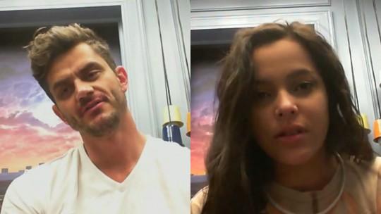 Raio-X BBB: Marcos e Emilly falam sobre a briga da gêmea com Marinalva: 'Eu me assustei'