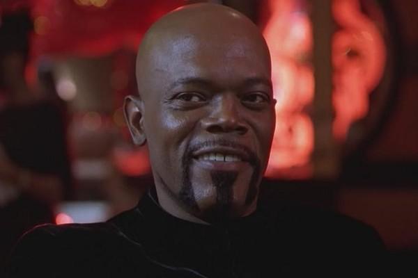 O ator Samuel L. Jackson em Shaft (2000) (Foto: Reprodução)