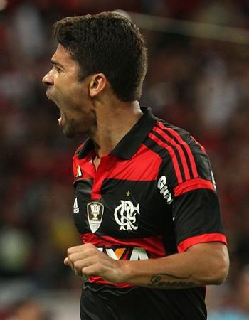 Eduardo da Silva, Flamengo, Flamengo x Sport, Maracanã (Foto: Gilvan de Souza/Fla Imagem)