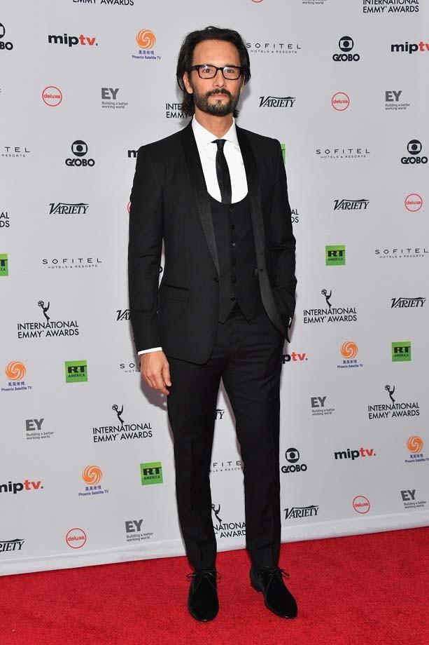 """Rodrigo Santoro foi um dos integrantes do elenco de """"Velho Chico"""", que concorreu a melhor novela, na premiação (Foto: Getty Images)"""
