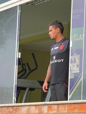 Carlos Eduardo Flamengo (Foto: Richard Souza)