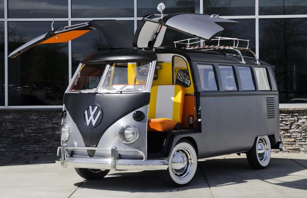VW Kombi DeLorean (Foto: Divulgação)