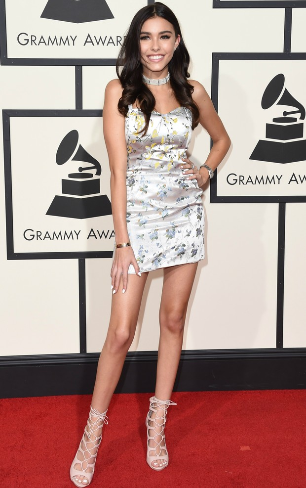 Madison Beer no Grammy 2016 (Foto: Getty Images)
