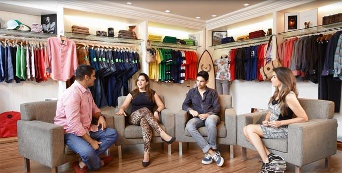 Blogueiros falam sobre moda e estilo no Programão (Foto: Reprodução/Rede Clube)