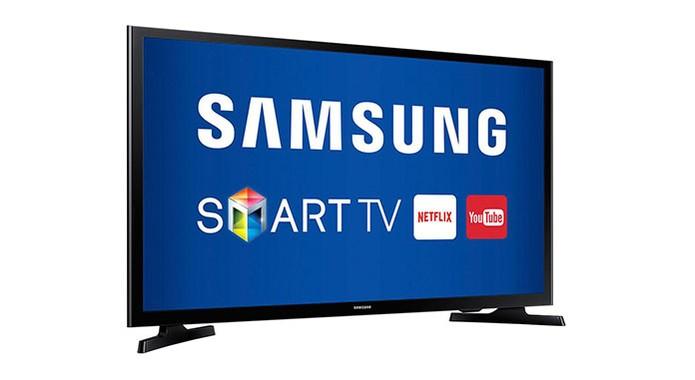 Smart TV Samsung 43J5200 oferece Wi-Fi e conversor digital integrado (Foto: Divulgação/Samsung)