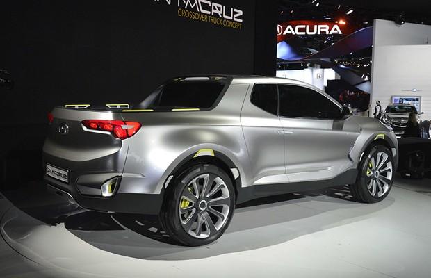 Picape Hyundai Santa Cruz está prestes a ser produzida ...