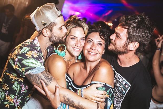 Bruno Gagliasso, Giovanna Ewbank, Fabiula nascimento e Emilio Dantas (Foto: Divulgação)
