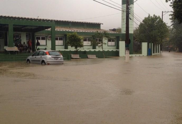 Chuva Maresias (Foto: Giovanna Camargo/TV Globo)