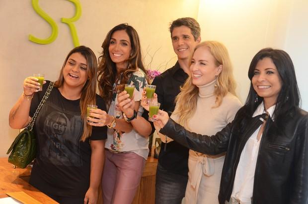 Preta Gil, Andrea Santa Rosa, Marcio Garcia, Angelica e Ana Lima (Foto: Ari Kaye/Divulgação)