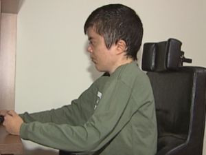Fábio, que é cadeirante, procura emprego há um ano  (Foto: reprodução/TV Tem)