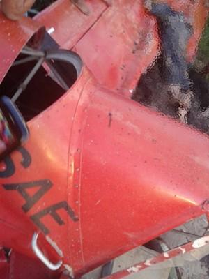 Avião monomotor cai e mata uma pessoa em Santa Luzia, MA (Foto: Divulgação/Jorge Muniz)