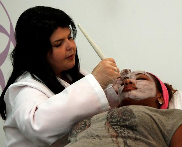 Luana Bandeira também faz tratamento para a pele (Foto: Luiz Eduardo Fotografia)