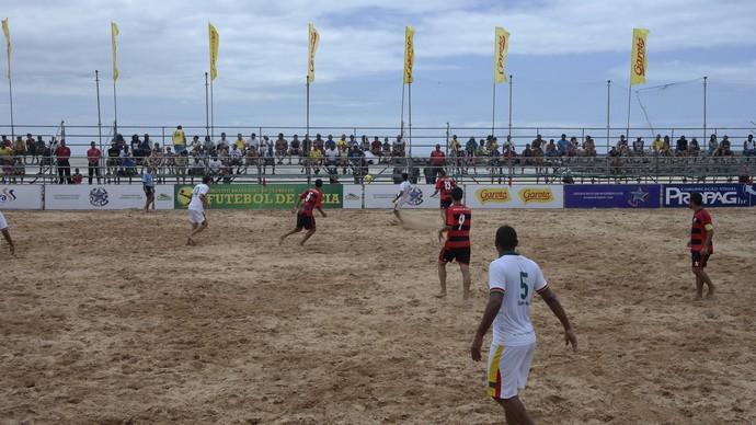 Flamengo x Sampaio Corrêa - Circuito Brasileiro de Clubes de futebol de areia (Foto: Richard Pinheiro/GloboEsporte.com)