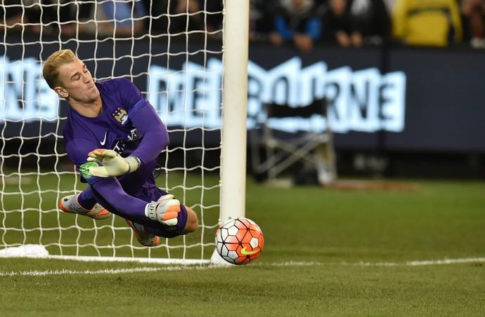 Joe Hart Manchester City Roma (Foto: AFP)