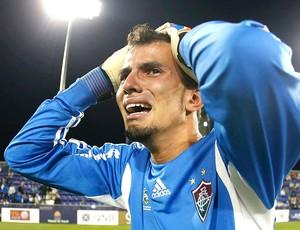 Marcos Felipe Fluminense comemora título sub-18 sobre o PSG (Foto: Reprodução / Facebook Oficial)