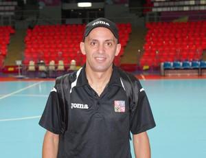 Potiguar Cacau é o segundo treinador da seleção da República Tcheca (Foto: Cedida/Arquivo Pessoal)